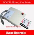 Frete grátis ATA PCMCIA 68PIN CardBus Para USB conversor Adaptador de Cartão Leitor de Cartão de Memória com o interruptor e gabinete