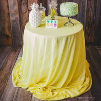 ShinyBeauty 90 Yellow Sequin Tablecloth Wedding Table Cloth Sparkle Sequin Linens Custom Made Gold Sequin Tablecloth
