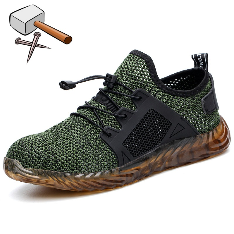 Men And Women Steel Toe Air Safety Boots Puncture-Proof Work Sneakers Breathable Shoes Dropshipping Indestructible Ryder ShoesMen And Women Steel Toe Air Safety Boots Puncture-Proof Work Sneakers Breathable Shoes Dropshipping Indestructible Ryder Shoes