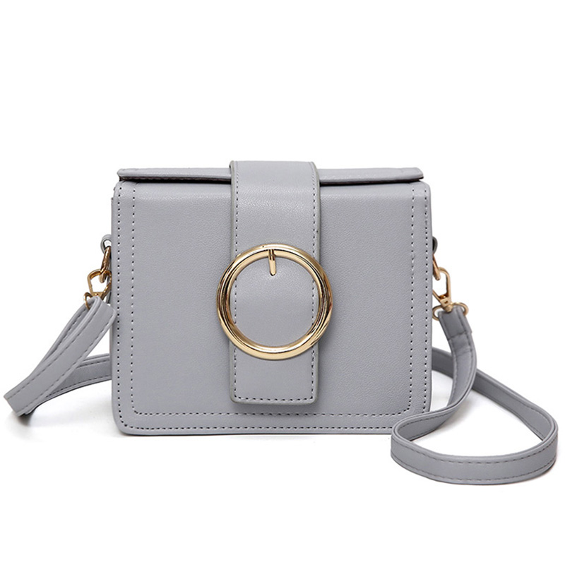 8c0e24675e26 HISUELY Women PU Leather Messenger Bags Ladies Shoulder bags Casual  Crossbody Purse Designers Handbag Solid Tote Bag Candy Color-in Top-Handle  Bags from ...