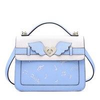 Aotian Shoulder Bags Women handbag Bags 2019 fashion new Cartoon Messenger Bag tote bag women Casual good quality