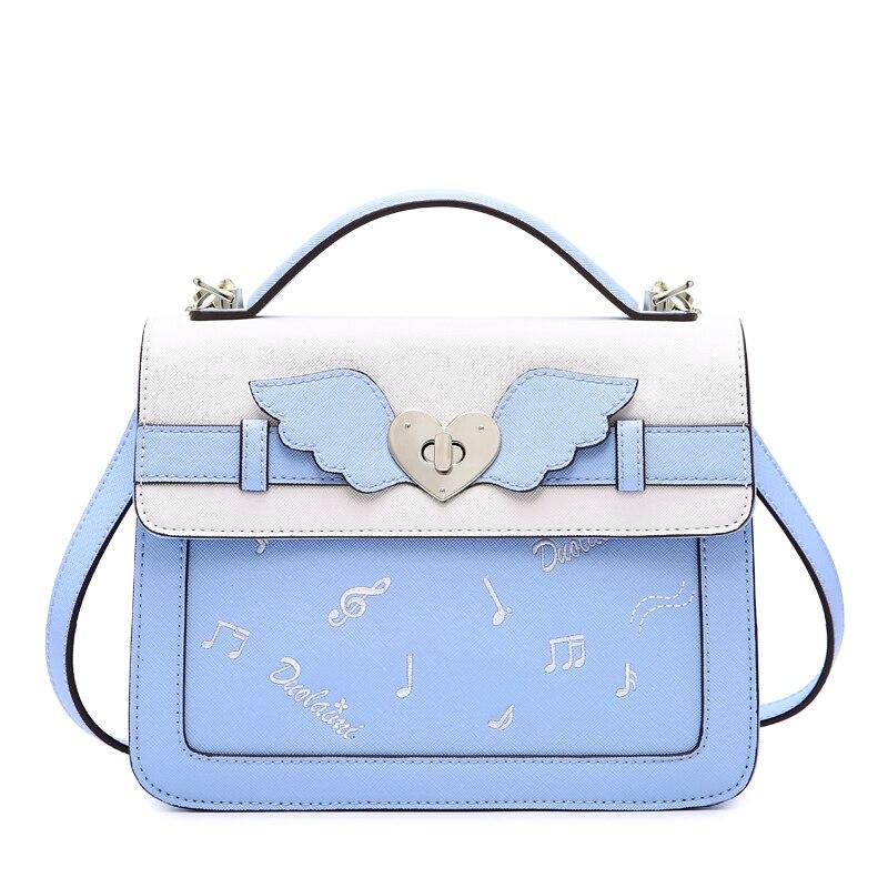 Aotian torby na ramię kobiety torebki torby 2019 moda nowy Cartoon torba torba na drobiazgi kobiety dorywczo dobrej jakości w Torby z uchwytem od Bagaże i torby na  Grupa 1