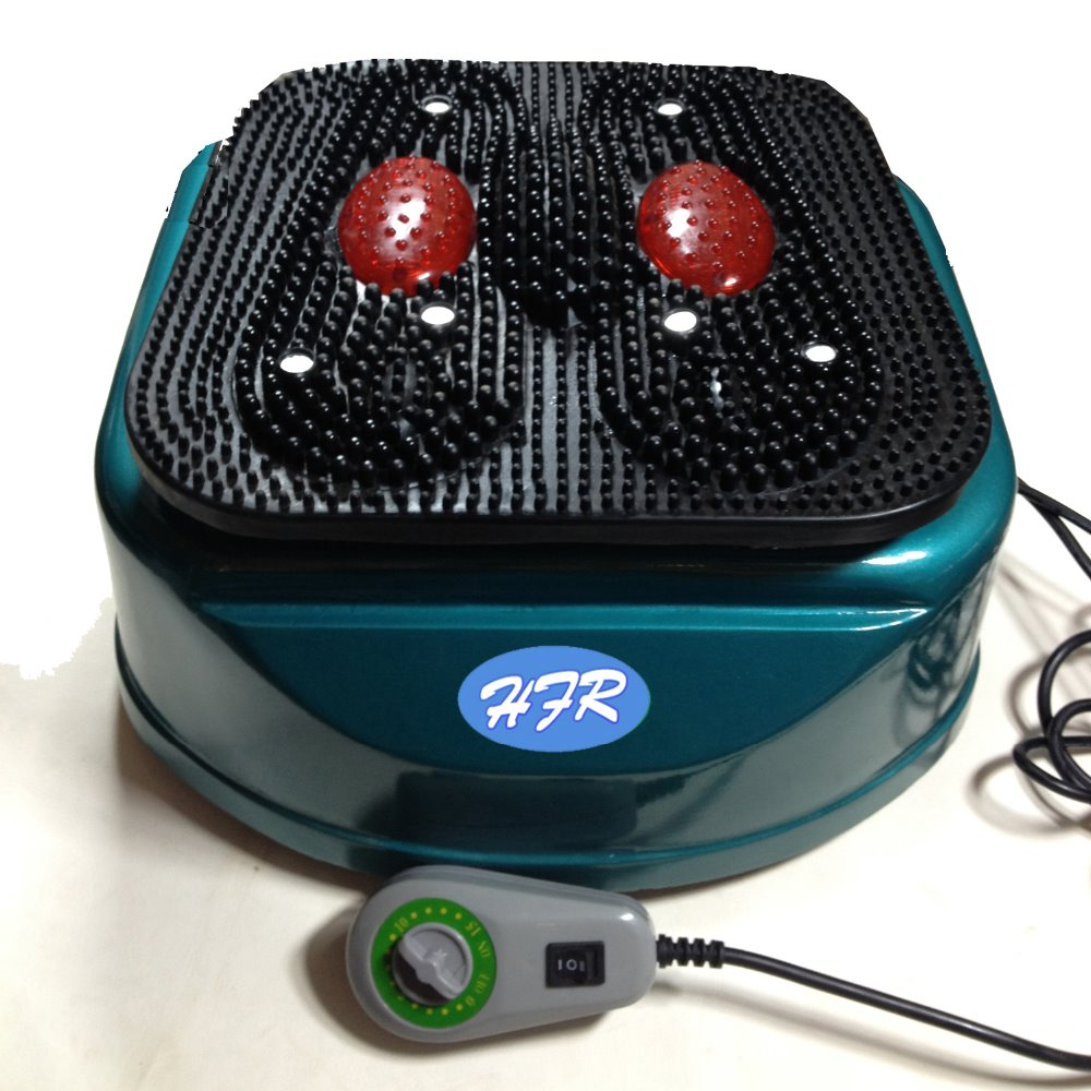 HFR-8805-1 HealthForever Brand Remote Control Vibrating Device Legs Full Body Electric Foot Blood Circulation Massage Machine green foot reflexology electric vibrating foot massage infrared heat therapy body relax blood circulation warm feet massager