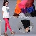 Nova moda de algodão gravidez maternidade ajustáveis Leggings completa tornozelo comprimento calças justas calças Stretch YF001