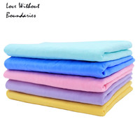 towels Pet Drying Towel Flexo deerskin absorbent Ultra-absorbent Dog Bath Towels Cleaning Necessary Pet Product L:66*43*0.2cm
