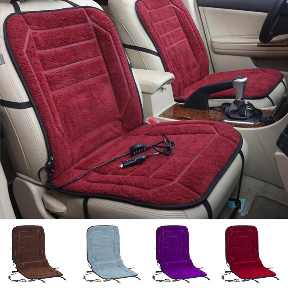 new car seat warmer seat cushion for cold days heated seat cushion cover auto dc 12v heating. Black Bedroom Furniture Sets. Home Design Ideas