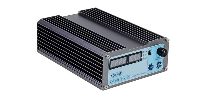 CPS-3205 0-32V 0-5A Portable Adjustable DC Power Supply 110V/220V Test Equipment gophert cps 1660 16v 60a digital adjustable dc power supply switching power supply cps 1640