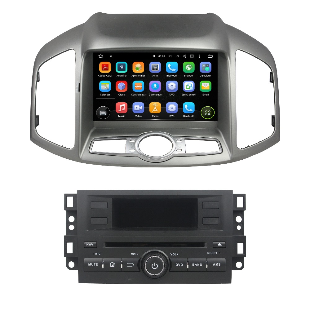 For Chevrolet Captiva 2012 2015 font b android b font 7 1 1 HD 1024 600