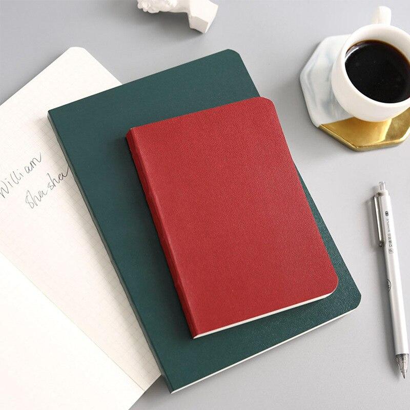 2019 Novos clássicos hardcover notebooks escola escritório papelaria suprimentos, 3 tipos: gráfico, linha, em branco, a5A6, pode personalizar o logotipo
