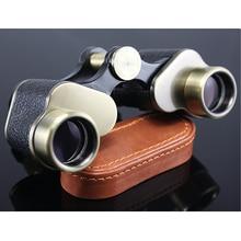 Original Germany Military Binoculars 8X24 Telescope Full-metal Nitrogen waterproof binocular with Leather Bag Lll Night Vision
