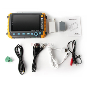 Image 5 - 5MP CCTV Security Camera Tester With 5 Inch TFT LCD Monitor For 4 IN 1 TVI AHD CVI Analog Security Cam Tester Video Audio Test