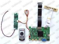 2 hdmi + vga + dp + 오디오 4 k lcd 컨트롤러 보드 지원 4 k 28 인치 lcd 패널 M280DGJ-L30 3840*2160