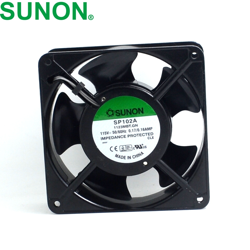 New original SP102A 12038 115V / 110V 12 aluminum double ball bearing fan 120*120*38mm delta ffc1212de original 12cm 12038 120mm dc 2 4a ball bearing fan violence powerful case fan