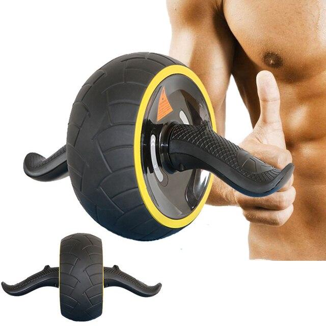 No Noise Ab Roller Wheel Abdominal Gym Roller Workout Exercises Noiseless Wheel