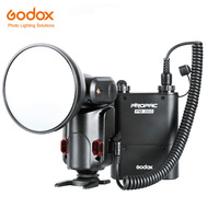 GODOX WITSTRO ad 180 Flash Light speedlite180w GN60 внешний Портативный С PB960 литиевых Батарея pack