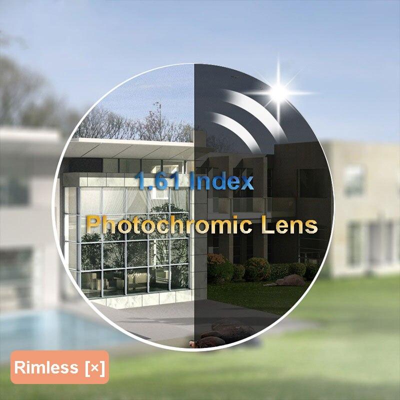 Baonong 1.61 высокий индекс фотохромные рецепт Оптические стёкла с быстрой Цвет изменение серый и коричневый доступны анти-излучения и УФ