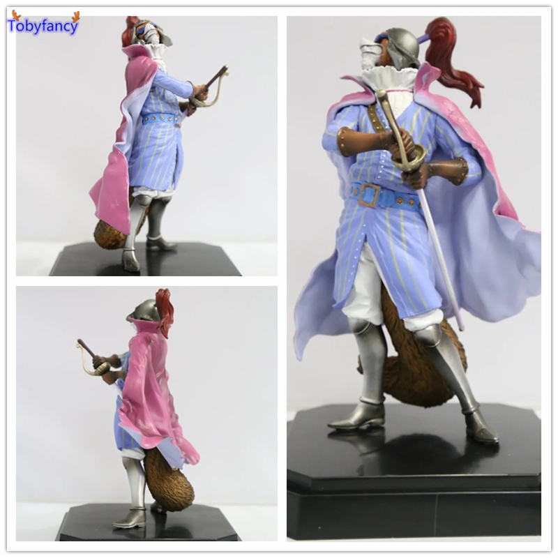 Tobyfancy Japan Anime One Piece Figure The Duke of dogs  PVC 17CM Collection Model Toy One Piece Action Figure anime one piece dracula mihawk model garage kit pvc action figure classic collection toy doll