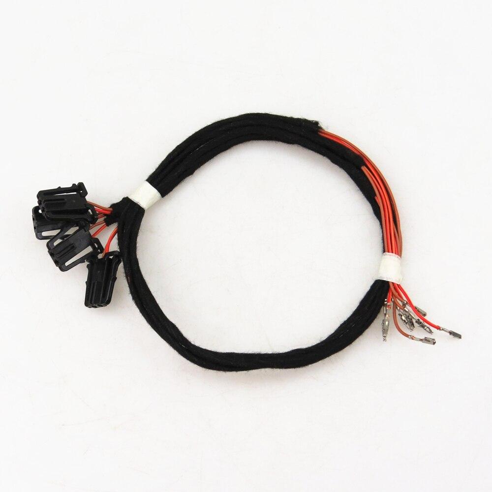 READXT 2P/4P Car Interior Lights Door Warning Light Plug Harnes Cable For Passat B6 B7 CC Golf 5 6 MK6 7 MK7 Tiguan EOS Seat Cables  Adapters & Sockets     - title=