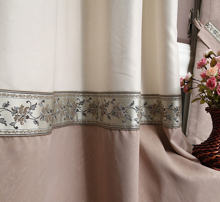 Linen Curtain With Hooks Punching Ready Curtains Linen Fabric Free Trim For Different Size 1684m80 Customize Curtains