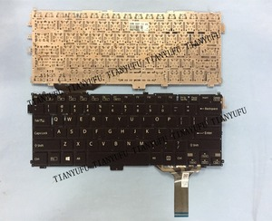 English NEW FOR SVP13 KEYBOARD For SONY VAIO Pro13 Pro 13 SVP13 SVP13A SVP132 SVP132A SVP1321 SVP13219SCB US Laptop keyboard