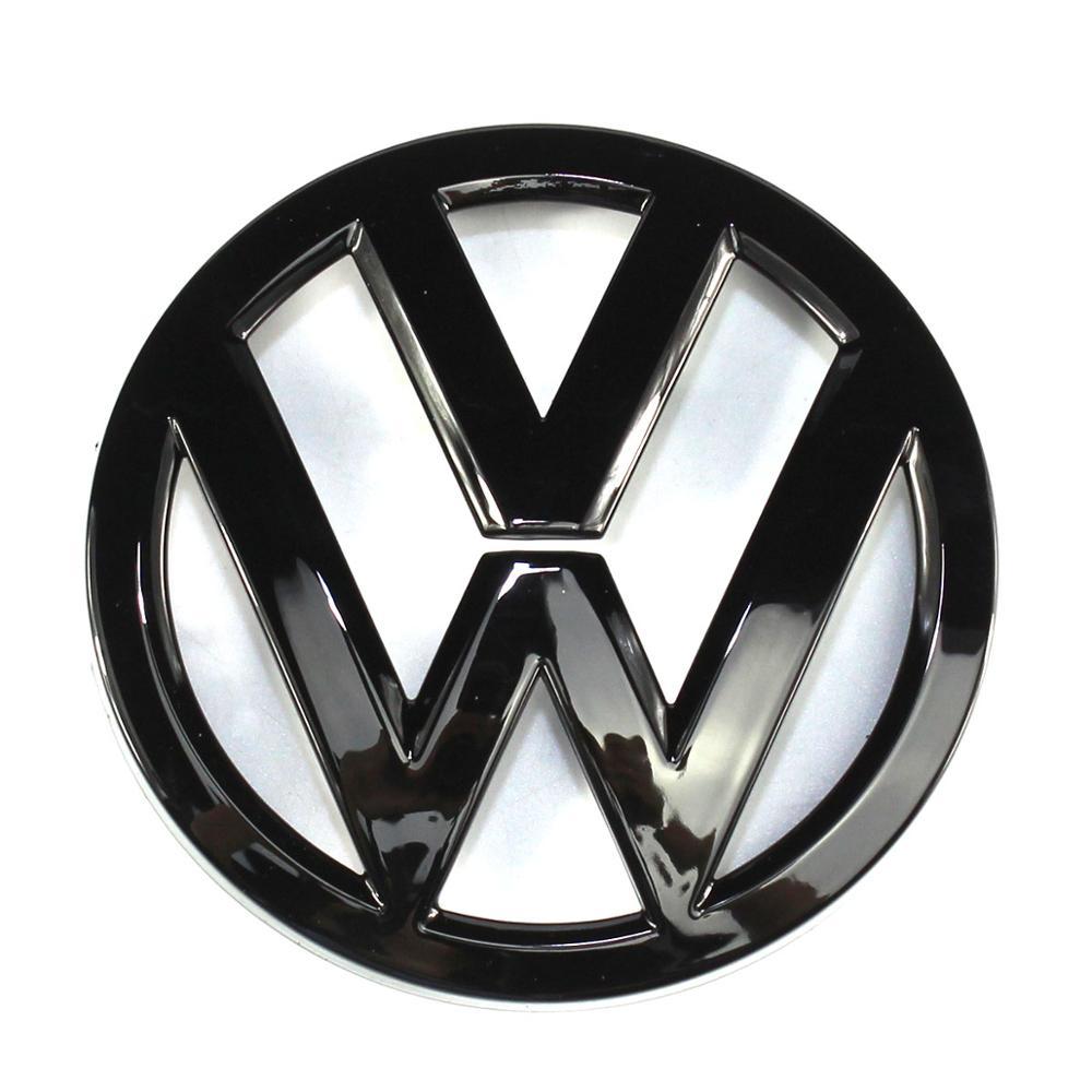 110 мм глянцевый черный Задняя Крышка багажника, бейж логотип эмблема Замена для Volkswagen Golf MK7