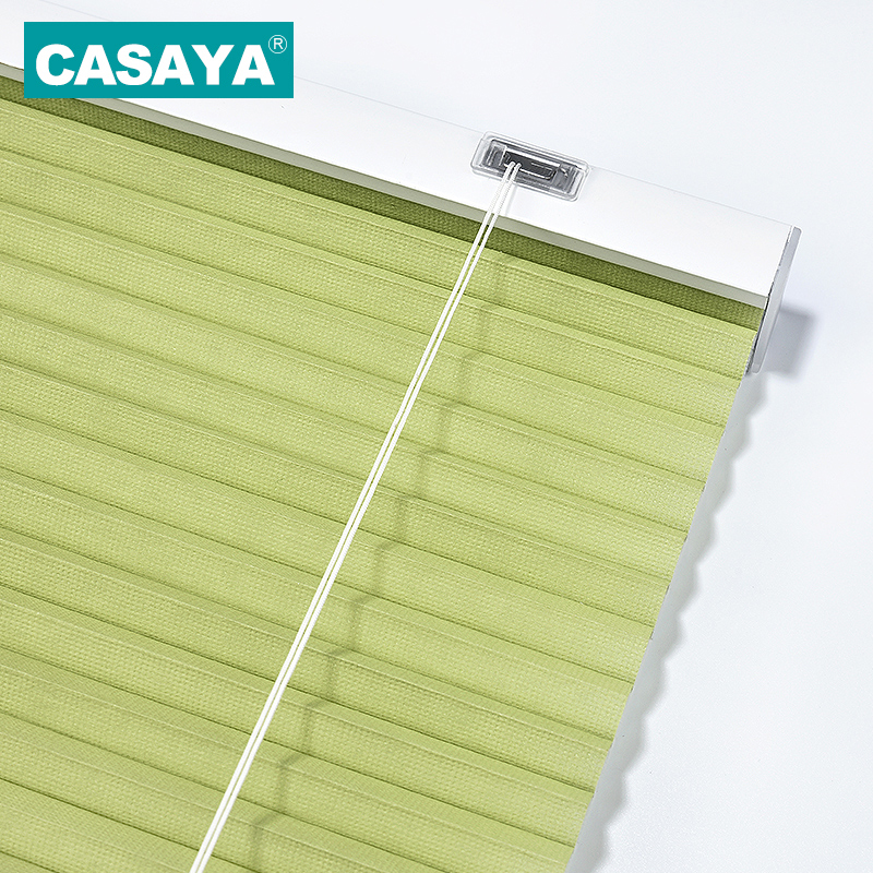 CASAYA Cellular Honeycomb Shades เชือกควบคุมกรองความเป็นส่วนตัวแนวนอนผ้าม่านหน้าต่าง 10 สี-ใน ม่านบังตา ที่บังแดด และบานเกล็ด จาก บ้านและสวน บน   1