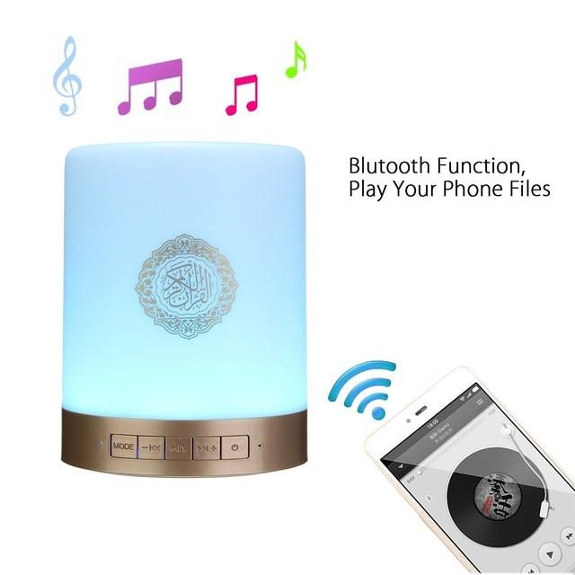 EQUANTU SQ112 Portable LED Bluetooth Speaker Quran Koran
