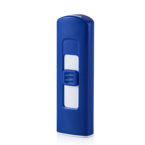 Image 5 - New Strip USB Lighter Rechargeable Electronic Lighter Thin Cigarette Windproof Lighter Cigar Plasma Flameless Double Side
