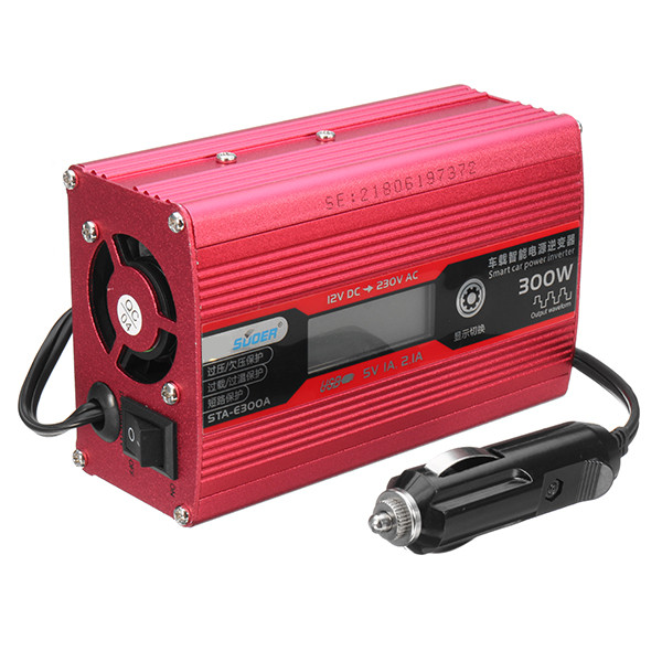 300 watt Led-anzeige 12 v Zu 230 v Auto Power PV Inverter Konverter USB Port Modifizierte Sinus Welle image