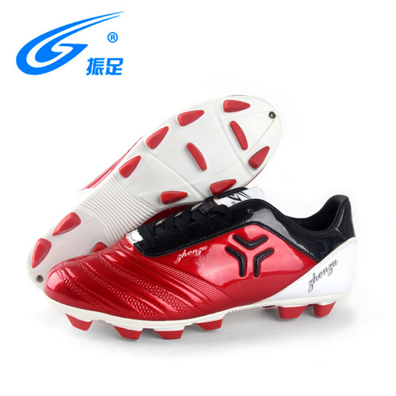 ZHENZU Men Professional Soccer Shoes Outdoor Grass Sneakers Male Football Boots Cleats Football Shoes Ankle Sneaker Soccer Shoes tiebao new men outdoor grass soccer shoes cleats for adults children sports football shoes brand football boots male size 35 44