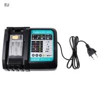 3A Li ion Battery Charger For Makita DC18RC BL1830 BL1815 BL1840 BL1850 14.4 18V EU/US Plug