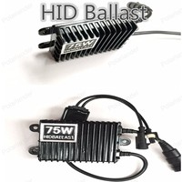 Polarlander 2pcs 100 New DC 12V Ballast 35W Car HID Thick Ballast For H1 H3 H4