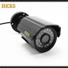 HKES CCTV AHD Camera CMOS 2000TVL IR Cut Filter 1MP 2MP Camera 720P 960P 1080P Outdoor Waterproof Bullet Security Camera