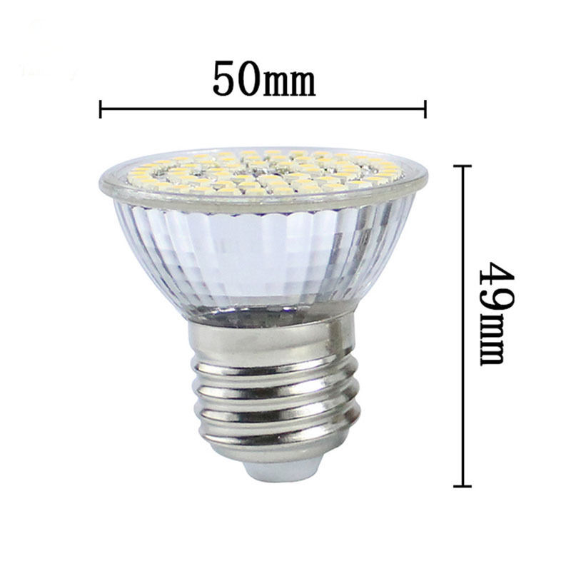 Ac/dc Adapters Ac 110v Or 220v E27 3528 Smd 3w/4w 44 Or 60 Led Cool Warm White Light Bulb Lamp Super Bright Led Spotlight Bulb Ceiling Lamp Orders Are Welcome.