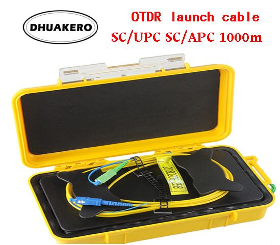 Free Shipping AB195A 500M 1000M 2000M OTDR Dead Zone Eliminator Fiber Rings Fiber Optic OTDR Launch