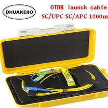 AB195A 500M-1000M-2000M OTDR мертвая зона Eliminator волоконно-оптический OTDR launch Cable Box SM 1310/1550nm