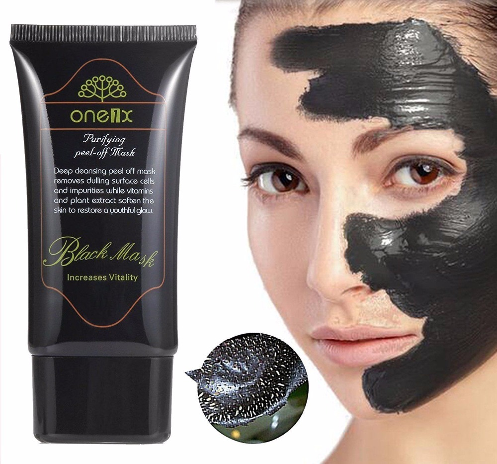 ONE1X 1PCS Purifying Blackhead Remover Peel-Off Facial Cleaning Black Mask For Man And Woman