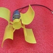 Миниатюрная ветряная турбина с вертикальной осью, генератор альтернативной энергии, технология DIY, принцип физической мощности