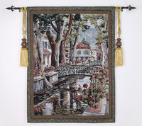 100*136 Belgiumwall appeso arazzo regalo di affari decorazione della casa della pittura tessuto living room picture paesaggio di campagna Francese
