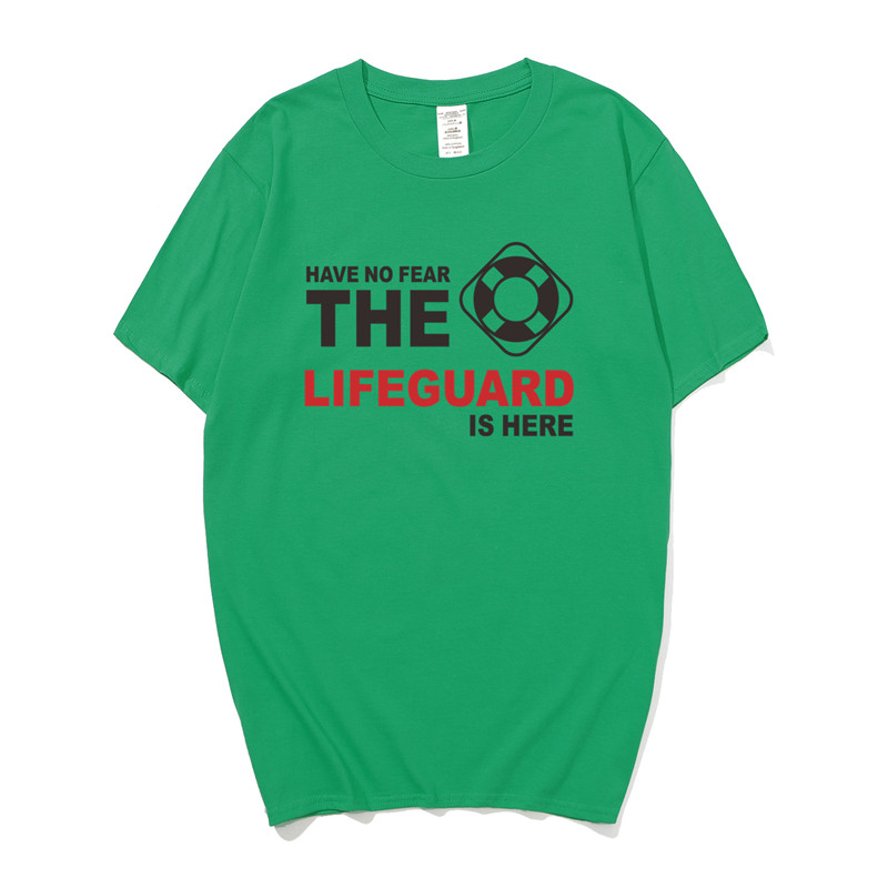e473e69a36f6 Have No Fear The Lifeguard Is Here T Shirt Men Novelty Funny T shirt ...