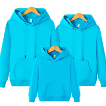 1 pcs spring new men and women sweater long-sleeved solid color hooded jacket lovers sweatshirt plus size 4XL