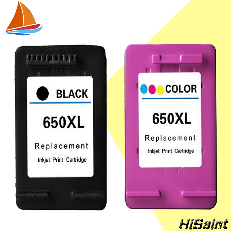 Hisaint for <font><b>HP</b></font> 650 Ink Cartridge for hp650XL For <font><b>HP</b></font> Deskjet 1015 1515 2515 2545 2645 <font><b>3515</b></font> 4645 Printer Panic Buying image