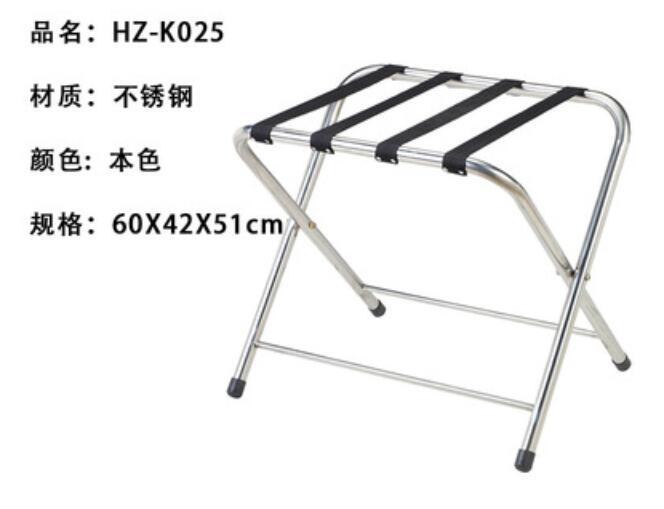 Складной багаж из нержавеющей стали для отелей - Цвет: Темно-серый