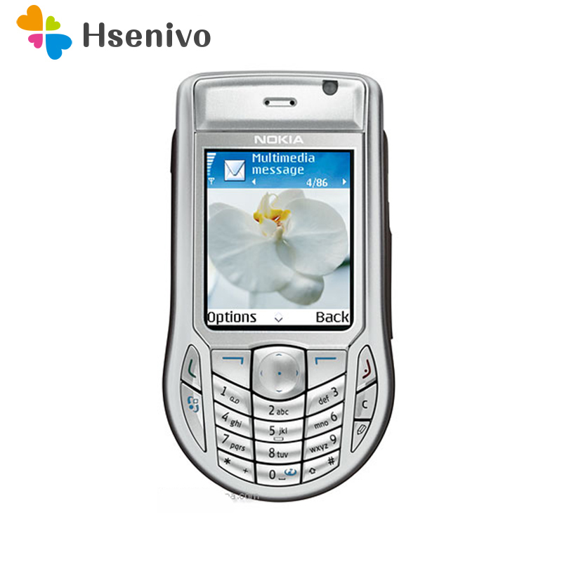 6630 100% Original Unlocked Nokia 6630 Phone 2.1' Inch GSM 3G Symbian 8.0s Mobile Phone With One Year Warranty Free Shipping