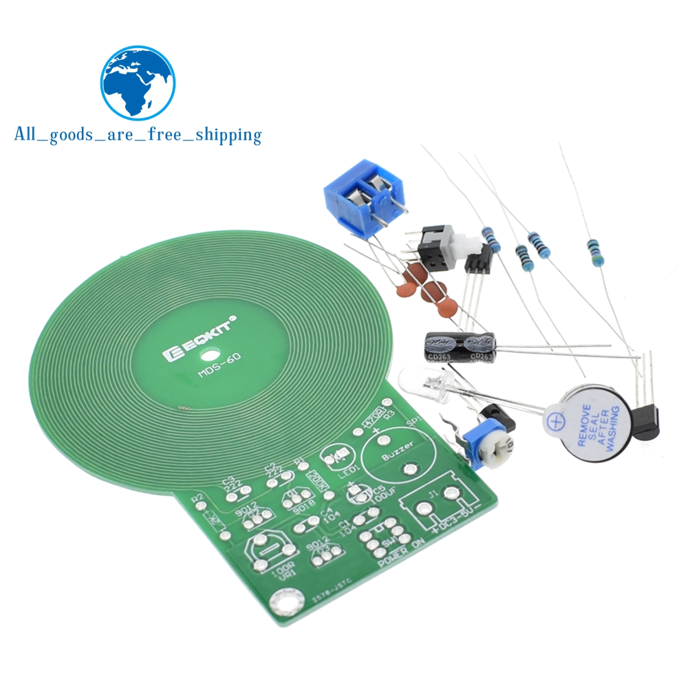Is Diy Kit Metal Detector Electronic Dc 3v 5v 60mm Non Pics Photos Build Your Own Projects Circuits Contact Sensor Board Module Part In Integrated From
