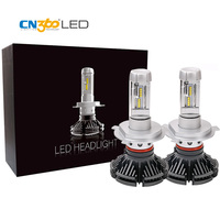 CN360 2PCS H4 Led Car Headlight Bulbs 2nd GEN ZES Chip 50W 5000LM 12V FogLight 3000K