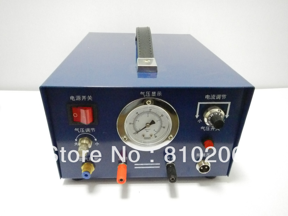 Wholesale jewelry argon welding machine,220V with 1 pcs electrode and1 pc clamp цена