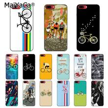 MaiYaCa BIKE CYCLING art Phone case For iphone 11 Pro 11Pro MAX 8 7 6 6S Plus 5 5S SE XR X XS MAX 10 Coque Shell(China)