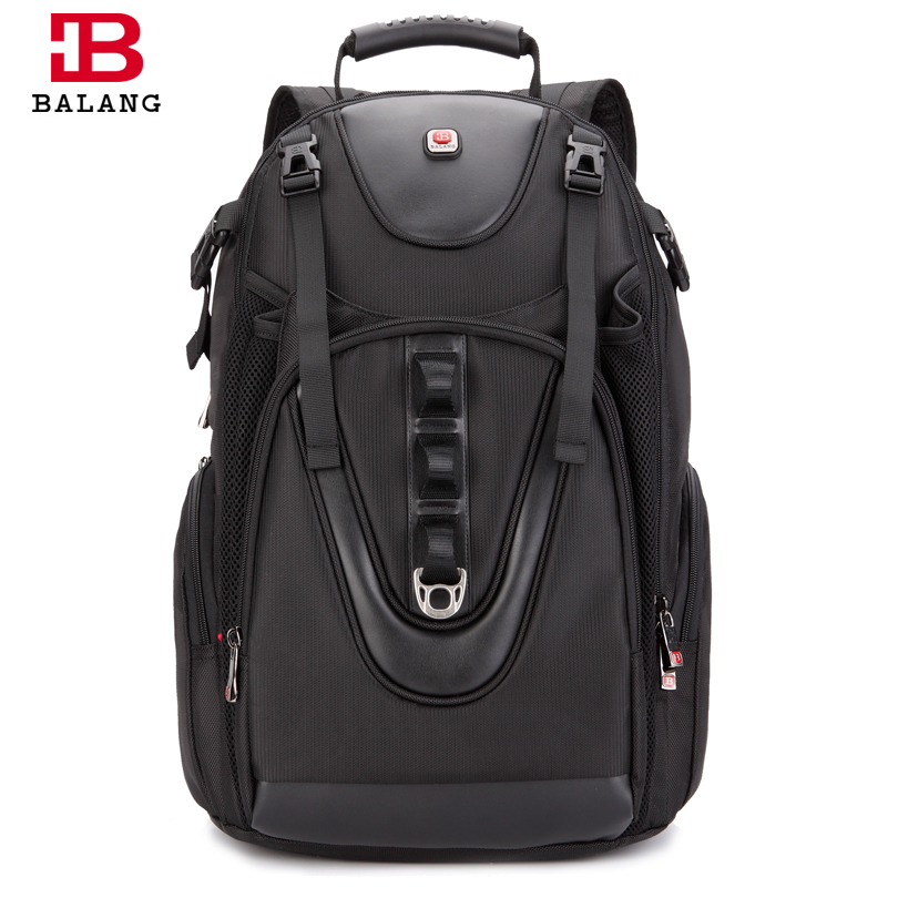 BALANG Multifunction Practical Large Capacity Men Backpack Waterproof Travel Women Casual 17 inch Laptop Camera Luggage