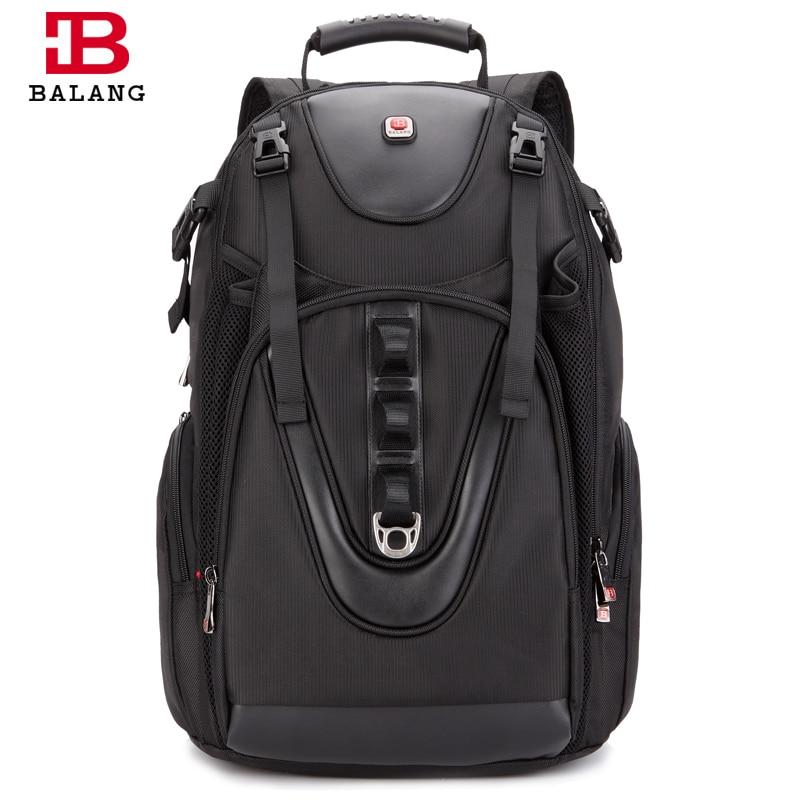 BALANG wielofunkcyjne praktyczne duża pojemność mężczyźni plecak wodoodporna podróży kobiety na co dzień 17 cal Laptop kamery torby bagażowe w Plecaki od Bagaże i torby na  Grupa 1